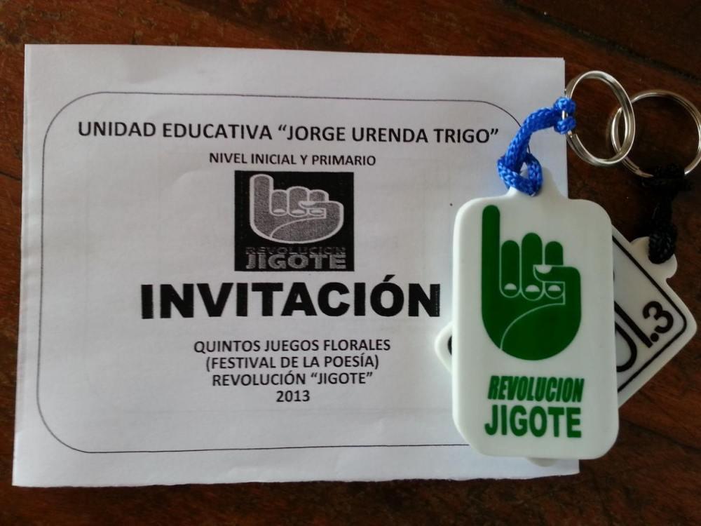 Invitación Festival de Poesía Colegio Jorge Urenda Trigo