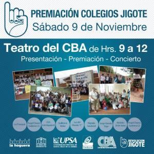 Premiación Colegios Jigote
