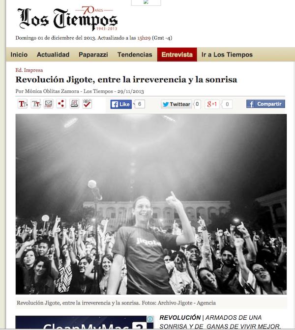 Revista Oh - Los Tiempos