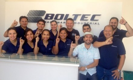 La empresa BOLTEC apadrina esta primera Brigada Estudiantil PATITO. ¡GRACIAS!