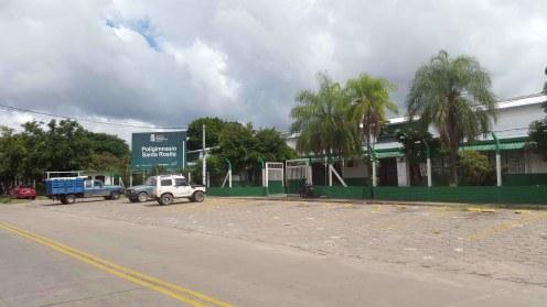 En Santa Rosita tenemos el poligimnasio donde se preparan muchos atletas.