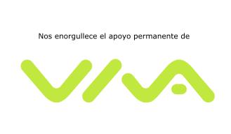 Nos enorgullece el apoyo permanente de VIVA